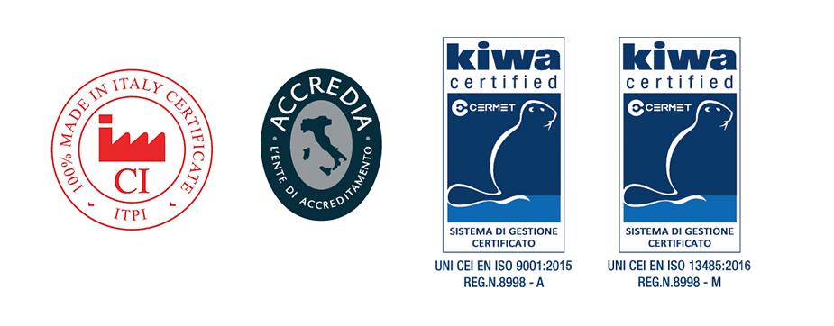 eme srl certificazioni ISO 2018 e Made in Italy